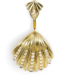 Yvonne Léon - Pack Coquillage Or Jyellow Gold Earring - Lyst