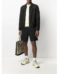 Stone Island Shadow Project Contrast Panelled Jacket - Black