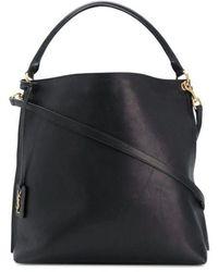 Saint Laurent Hobo Shoulder Bag - Black