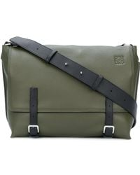 Loewe - Military Messenger Bag - Lyst