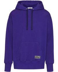 Valentino Purple Hoodie