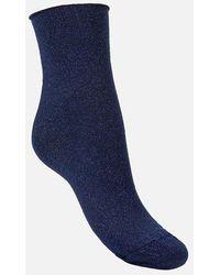 Geox Chaussettes femme lot de 2 paires - Bleu