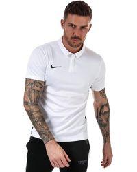 Nike Academy 18 Polo Shirt - White
