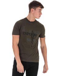 Armani Logo T-shirt - Green