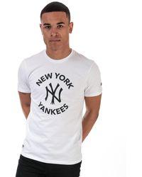 KTZ Nyy Logo T-shirt - White
