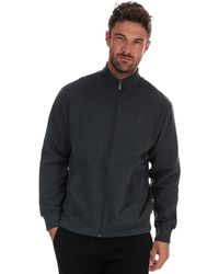 Russell Athletic Track Jacket - Grey