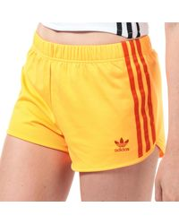 adidas Originals 3-stripes Shorts - Orange
