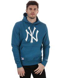 KTZ Team Logo New York Yankees Hoody - Blue