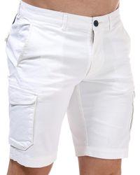 Henri Lloyd Cargo Chino Shorts - White