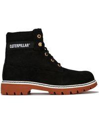 Caterpillar Erpillar Lyric Corduroy Boot Black