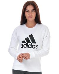 adidas - Must Haves Bos Crew Sweatshirt - Lyst