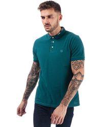 Pretty Green Nightshade Carver Polo Shirt - Blue