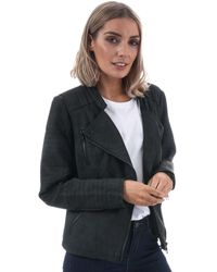 ONLY - Ava Faux Leather Jacket - Lyst
