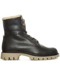 Caterpillar Basis Fur Boots - Black