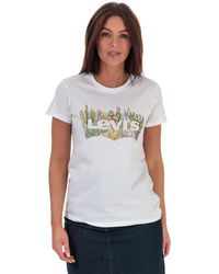 Levi's The Perfect T-shirt - White
