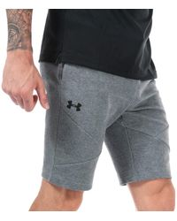 Under Armour Ua Unstoppable Double Knit Shorts - Grey