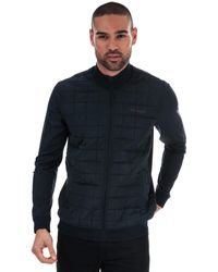 Ted Baker Trolley Square Quilted Layering Jacket - Blue