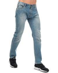 Armani J45 Slim Fit Jeans - Blue