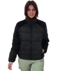 Calvin Klein Material Mix Puffer Jacket - Black