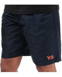 Y-3 Classic Logo Swim Shorts - Blue