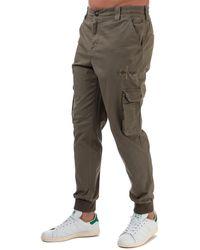 Calvin Klein Slim Cargo Trousers - Green