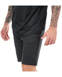 Under Armour Ua Unstoppable Double Knit Shorts - Black