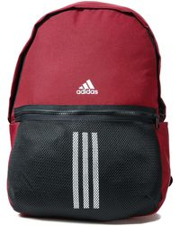 adidas Classic 3-stripes Backpack - Red