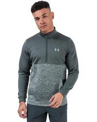 Under Armour Armour Fleece 1/2 Zip Sweatshirt - Grey