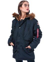 Alpha Industries Polar Jacket - Blue