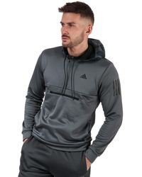 adidas Half Zip Hoody - Grey