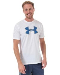 Under Armour Big Logo T-shirt - White