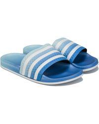 adidas Adilette Slide Sandals - Blue