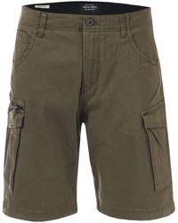 Jack & Jones Basic Cargo Shorts - Green