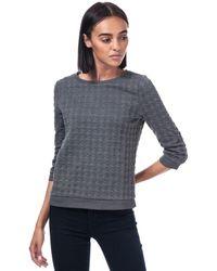 ONLY Mynthe Joyce Crew Sweatshirt - Grey