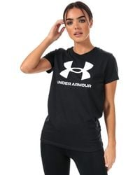 Under Armour Graphic Sportstyle Short Sleeve T-shirt - Black