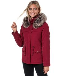 ONLY Starline Parka Jacket - Red