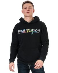 True Religion Embroidered Hoody - Black