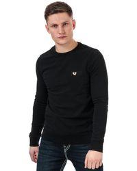 True Religion Metal Horseshoe Sweatshirt - Grey