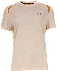 Under Armour Streaker 2.0 T-shirt - Yellow