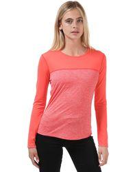 Berghaus Voyager Tech Long Sleeve T-shirt - Pink