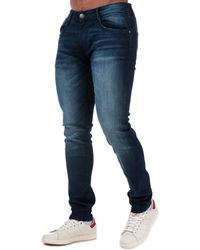 Duck and Cover Maylead Slim Fit Jeans - Blue