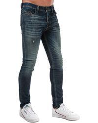 DIESEL Tepphar Slim Fit Jeans - Blue