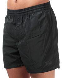 Y-3 Classic Logo Swim Shorts - Black