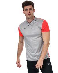Nike Trothy Iv Polo Shirt - Grey