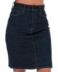 Levi's Classic Skirt - Blue