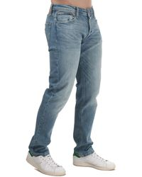 Jack & Jones Mike Original Relaxed Fit Jeans - Blue