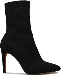 Karen Millen Ella Class Boots - Black