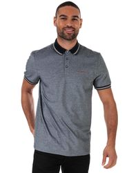 Ted Baker Handie Oxford Polo Shirt - Blue