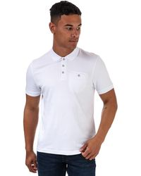 Ted Baker Pumit Polo Shirt - White