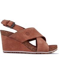 Gratificante ciclo Asombro  Timberland Wedge sandals for Women - Up to 56% off at Lyst.co.uk